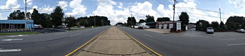 Wilkinson Boulevard at Kee Road, looking east