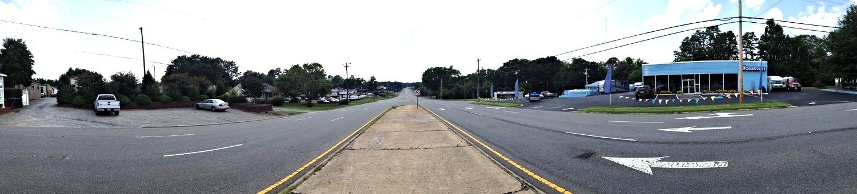 Wilkinson Boulevard at Kee Road, looking west