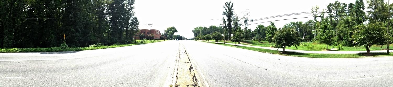 Wilkinson Boulevard at Catawba Street, looking west