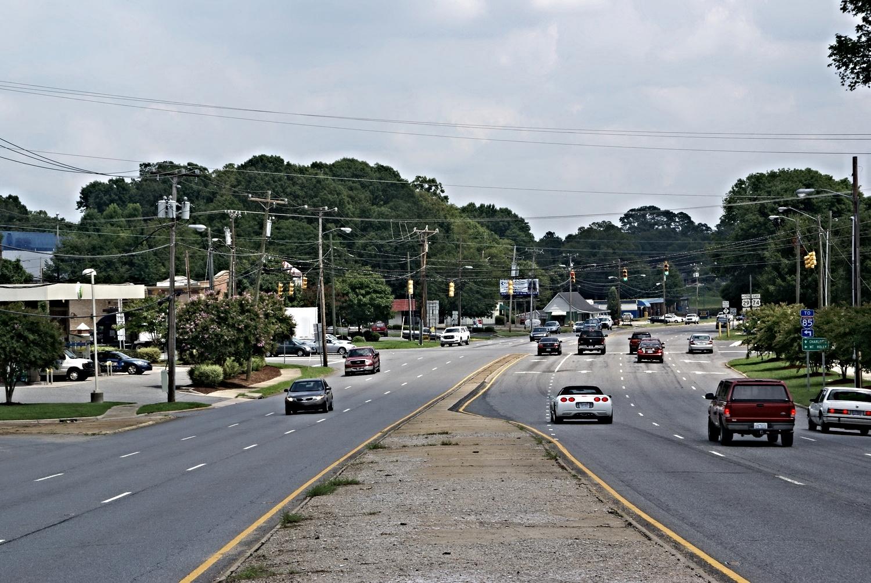 Wilkinson Boulevard at Park Street