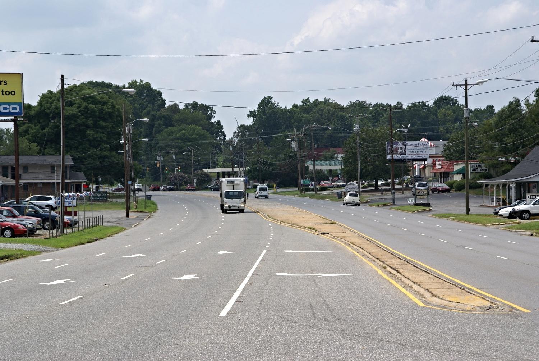 Wilkinson Boulevard at Browntown Road