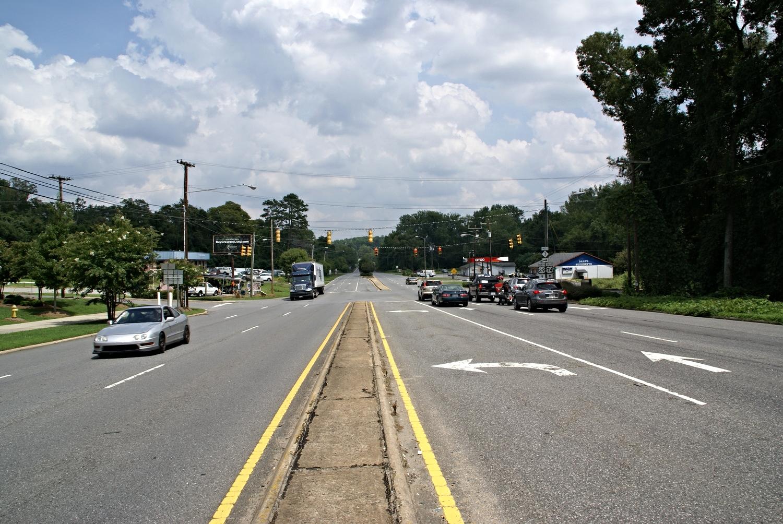 Wilkinson Boulevard at Catawba Street