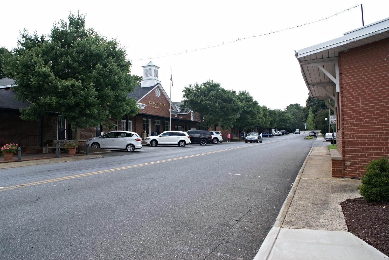 Main Street, downtown McAdenville