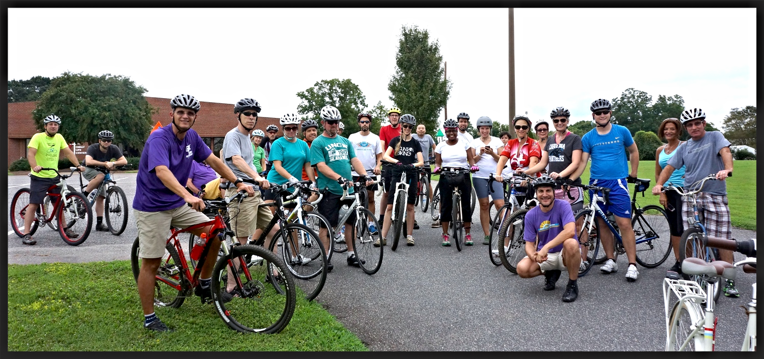 Two Rivers Ride inaugural group