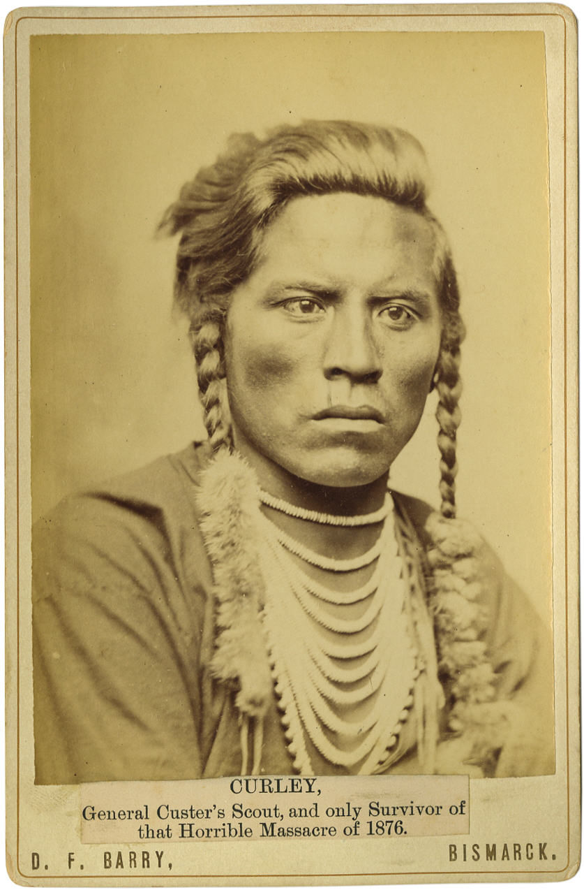 Curley, Custer's Scout, c. 1885.