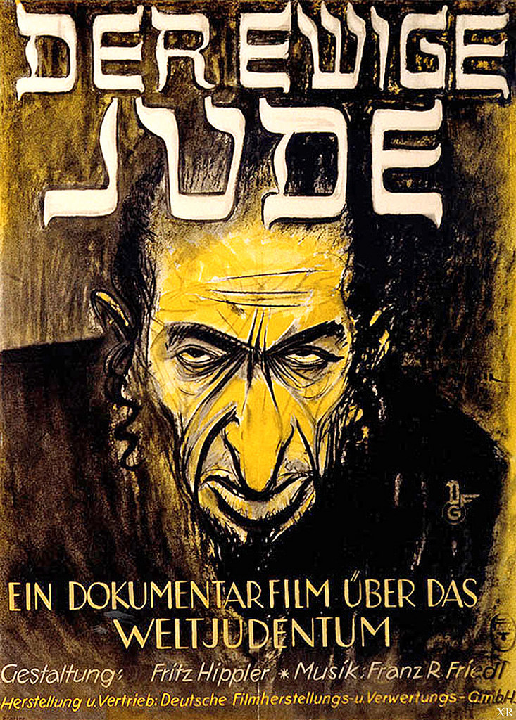 "Image 2. Poster for ""The Eternal Jew"" (1940). Wikimedia Commons."