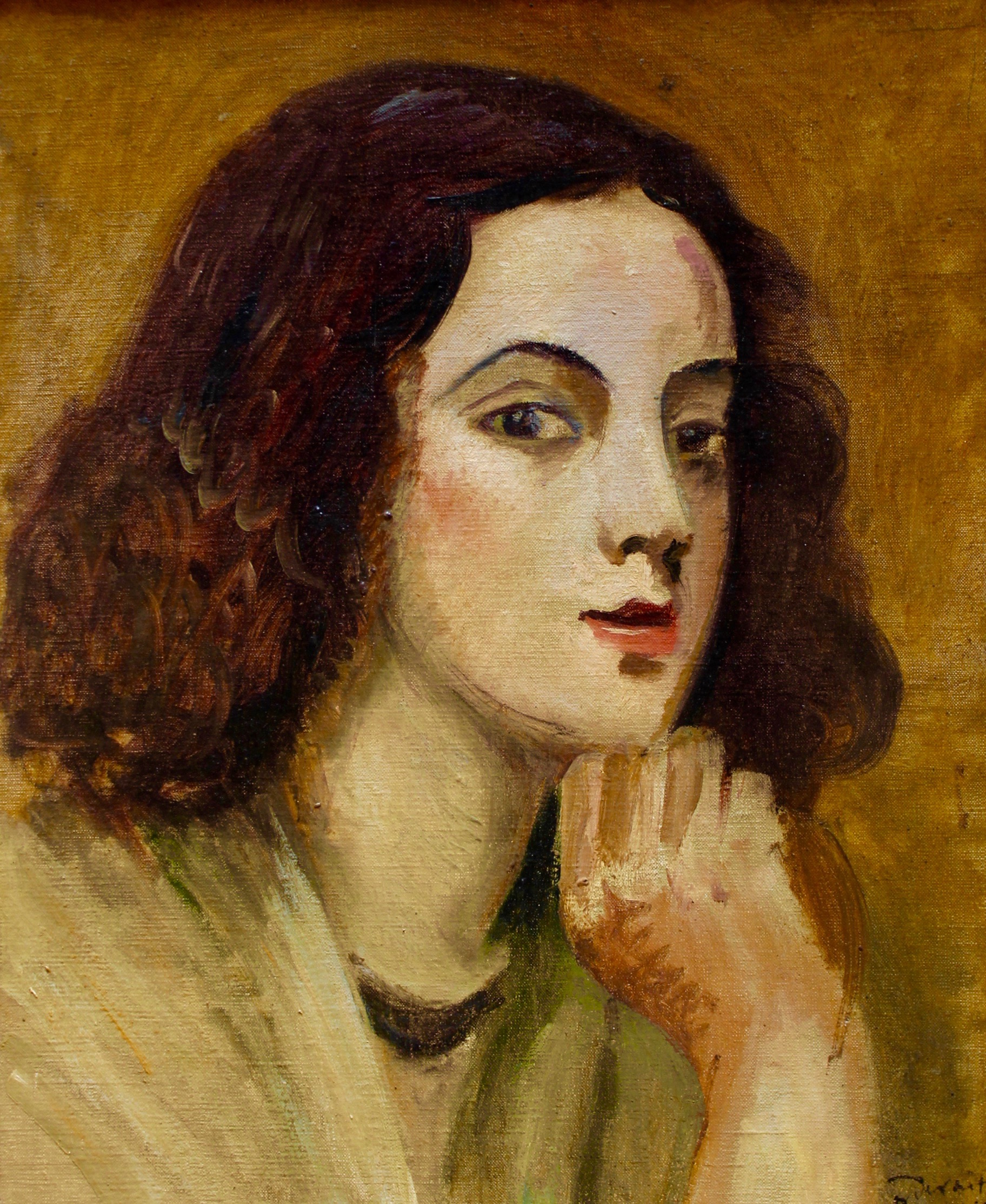 Andre Derain Head of a Young Woman Mary Ran Gallery.jpg