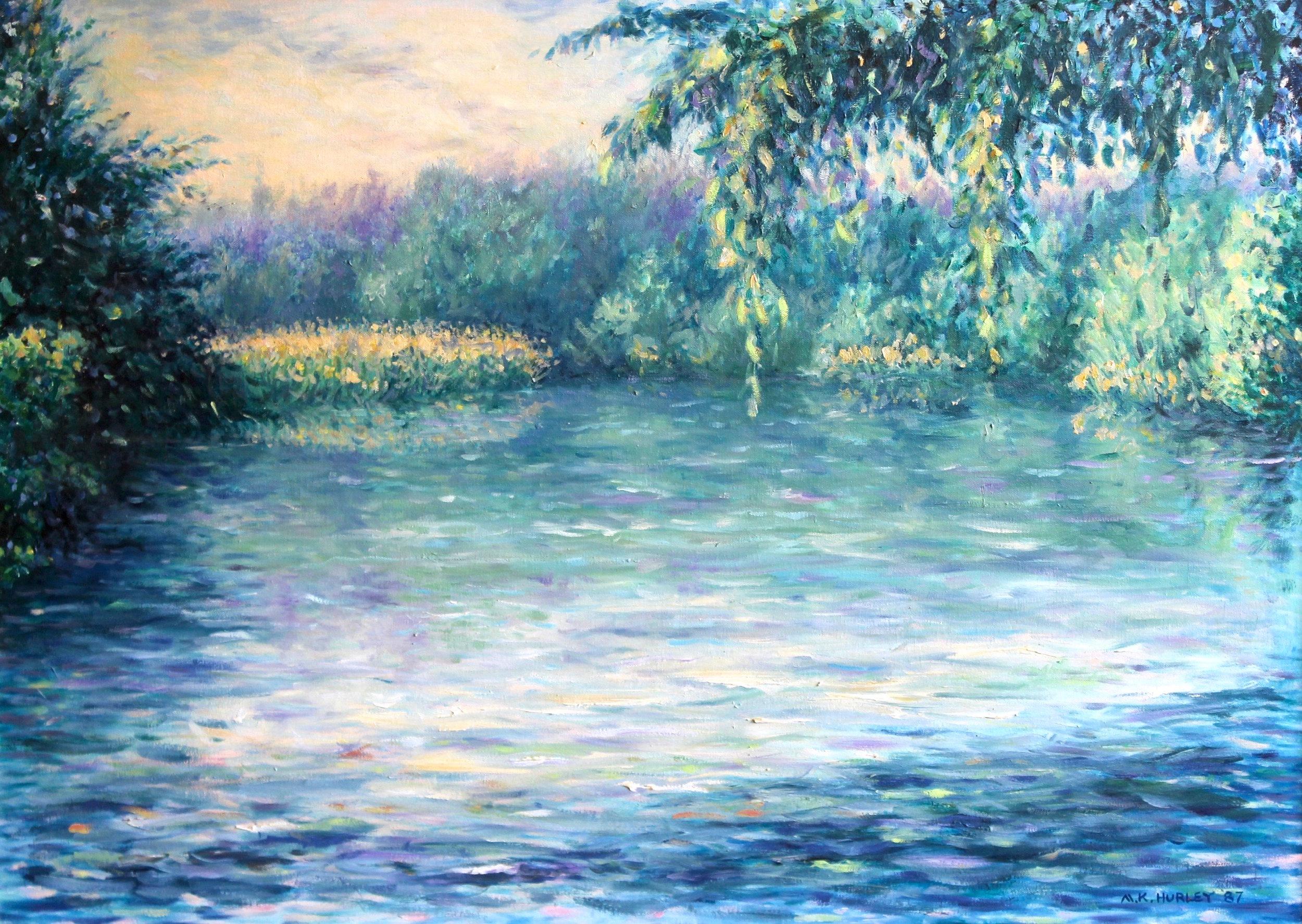 """""""Spring Grove"""", Oil on canvas, 25""""x35"""