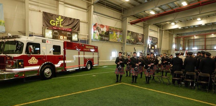 Vaughan Fire Service Graduation Ceremony