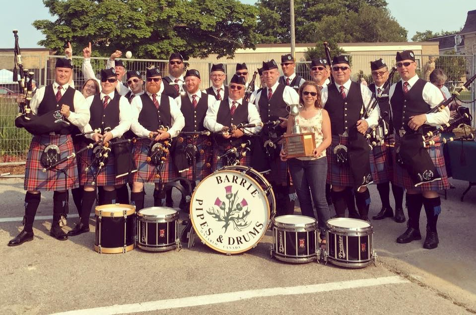 First place!   Kincardine, July 2015