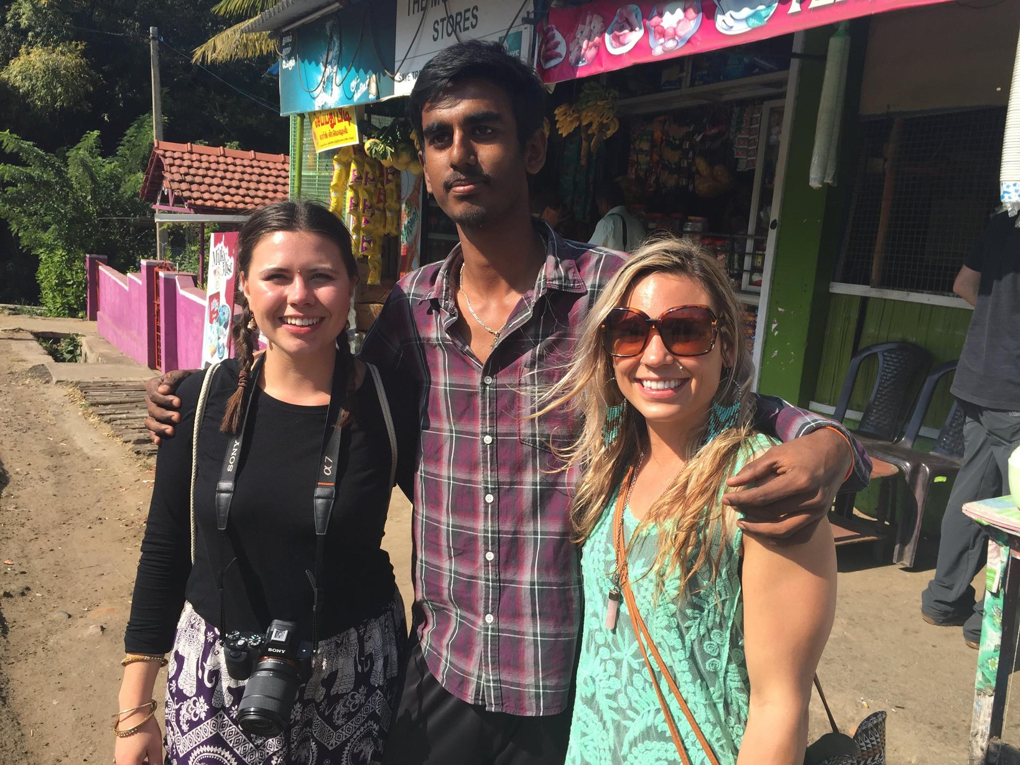 Tamil Nadu, India December 2015  In Search of medicine in the forrest with researcher, Tanya Denne
