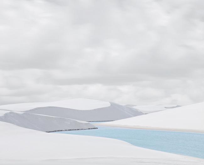Rio Azule II, Len    çois Maranhenses   , 2013, Archival pigment print, 32 x 40 inches