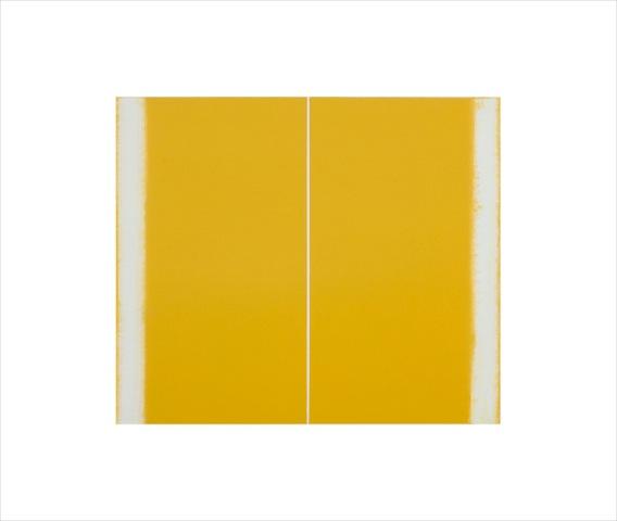 Betty Merken, Wild Mustard , 2015, Oil monotype, 14 x 16 inches
