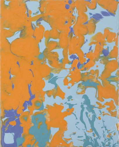 Durner, Leah - orangeturquoise pour.jpg
