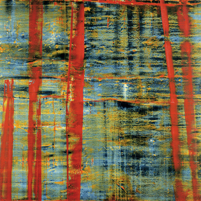 Donald Groscost,  Torii , 2003, Oil on canvas, 72 x 72 inches