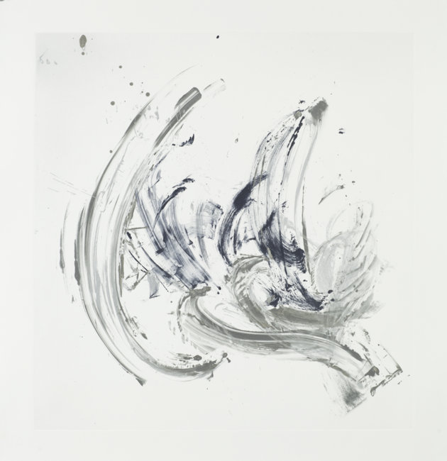 Cycle X 15 , 2013, Monoprint, 42.5 x 40 inches