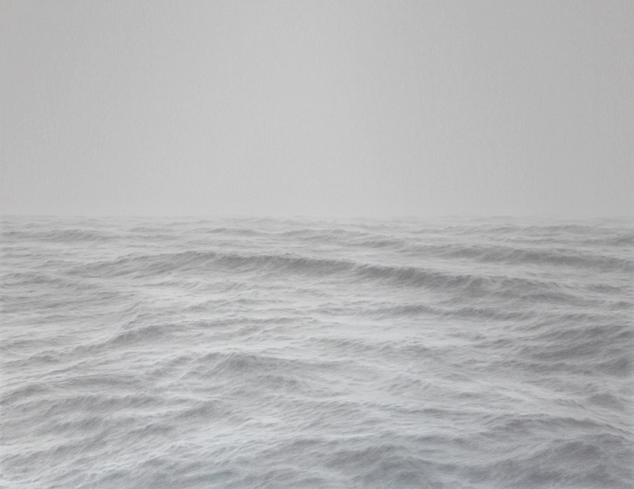 Katherine Young,  Open Ocean 29,  2016,  graphite on paper, 40 x 52 inches