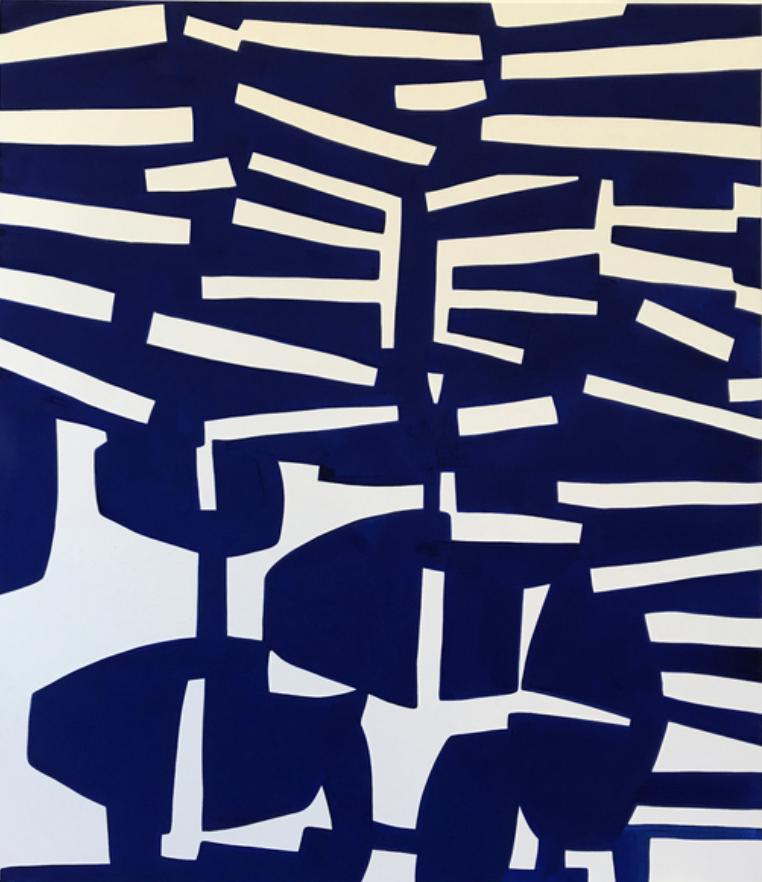 aymond Saà , Untitled , 2017, Oil on canvas, 62 x 54 inches