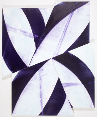 Balk , 2009, Acrylic on canvas on panel, 65 x 53 inches