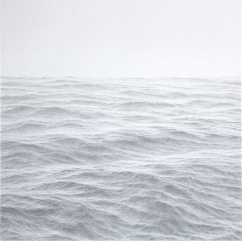 Katherine Young,    Advancement,  2018, graphite on paper, 40 x 40 inches