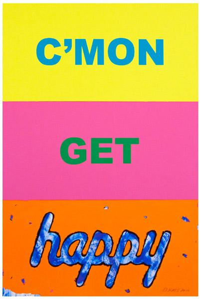 Deborah Kass,  C'mon Get Happy,  2010, archival pigment inks on 300gsm fine art paper, 33 x 22 inches