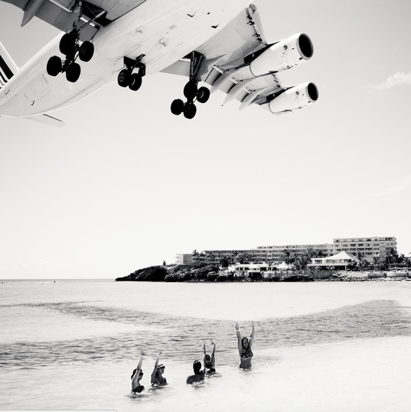 Jet Airliner 44 , 2011, archival pigment print, 40 x 40 inches, edition of 5