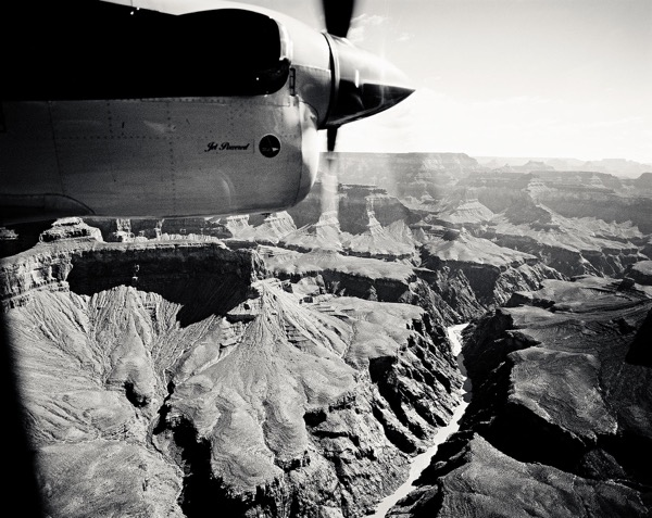 Grand Canyon , 1987, archival pigment print, 34 x 37 inches, edition of 9