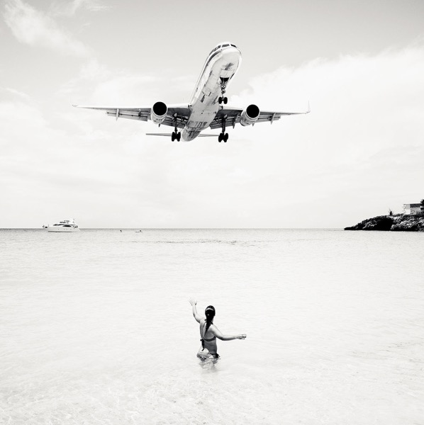 Jet Airliner 57 , 2011, Archival pigment print, 40 x 40 inches, Edition of 5