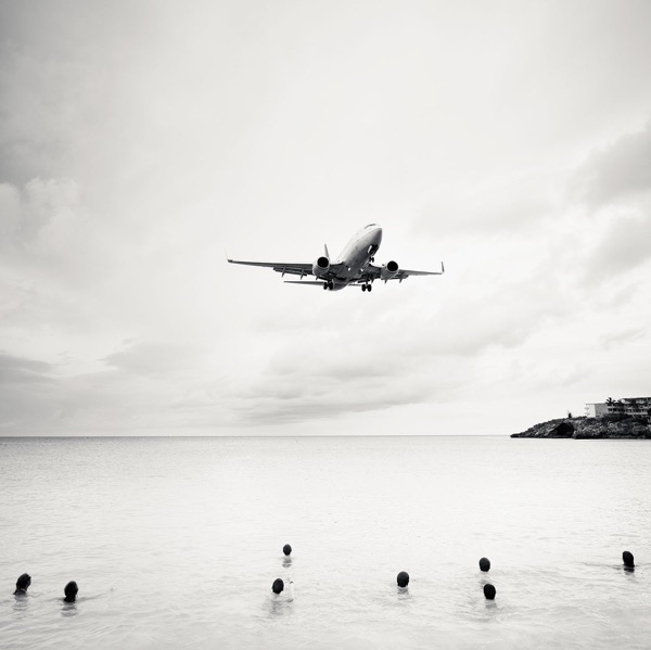 Jet Airliner 60,  2011, Archival pigment print, 60 x 60 inches, Edition of 5