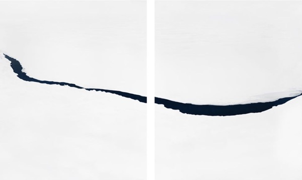 Stream #10,  Archival pigment print, 40 x 65 inches, Edition of 5
