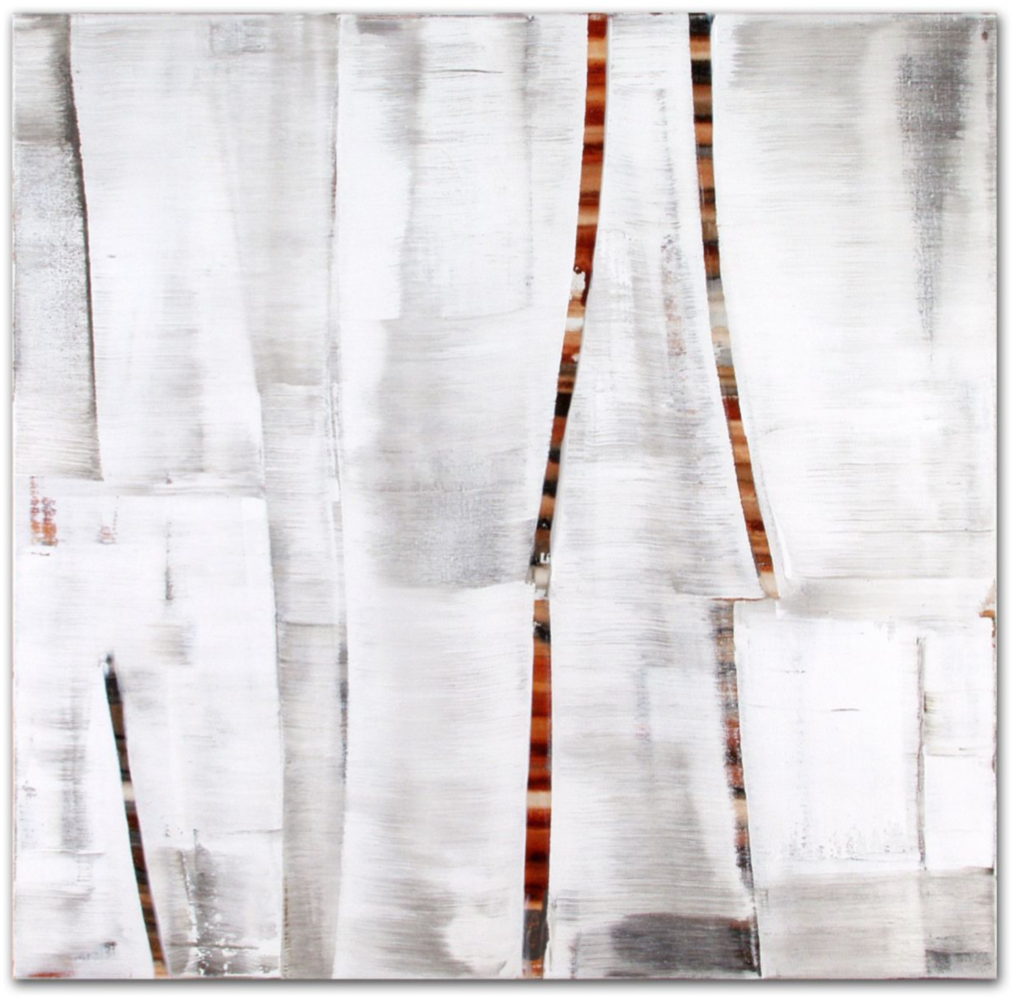 Julio 3.03,  2003, Oil on linen, 33 x 33 inches