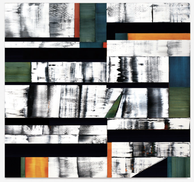 Kallash M13,  2012, Oil on linen, 90 x 96 inches