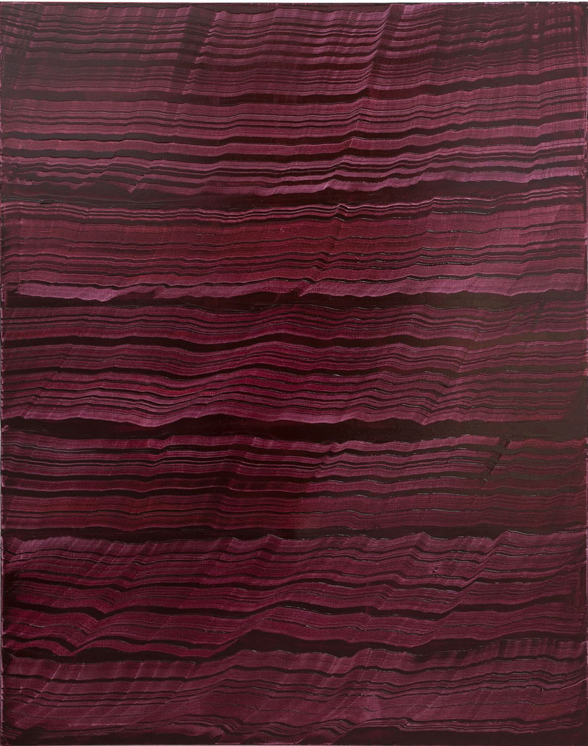 Violet 2 , 2016, Oil on linen, 70 x 55 inches