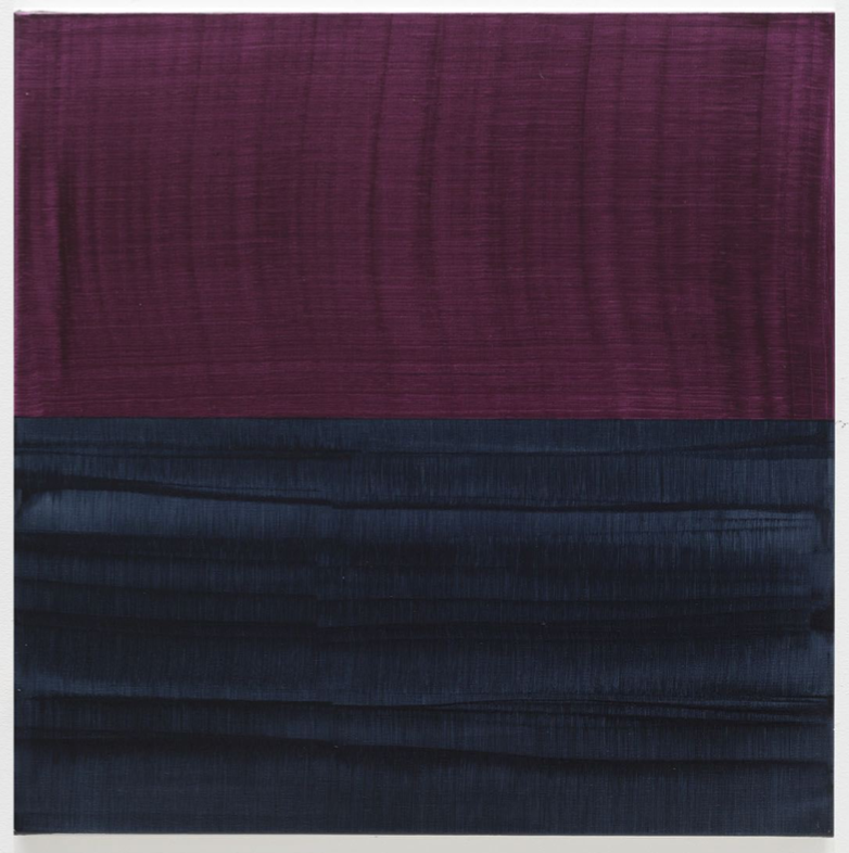 Violet and Payne's Grey 1 , 2016, Oil on linen, 36 x 36 inches