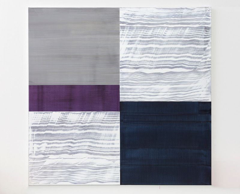 Violet G1 , 2017, Oil on linen, 71 x 73 inches