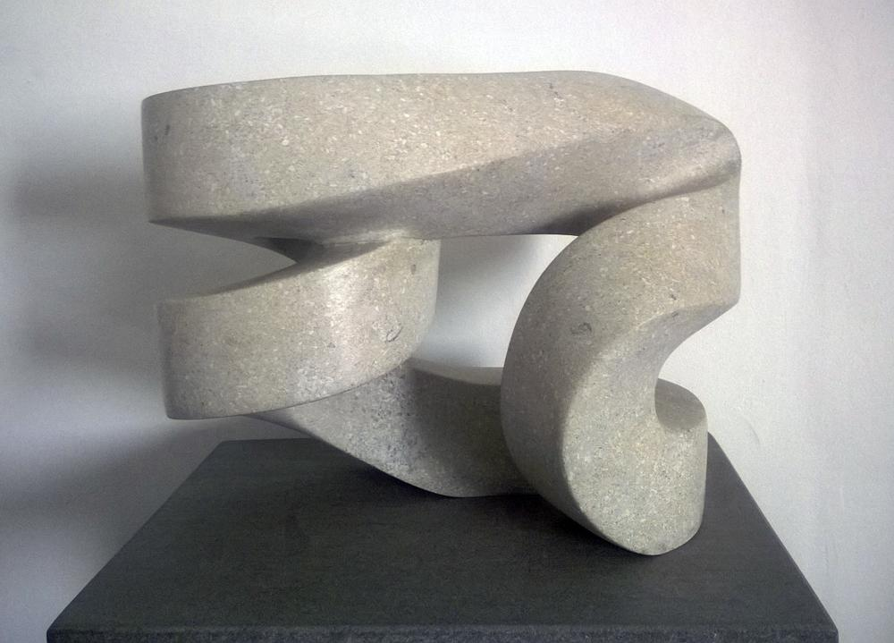 Paul Bloch,  Limestone , 2006, Limestone, 15 x 17 x 12 inches
