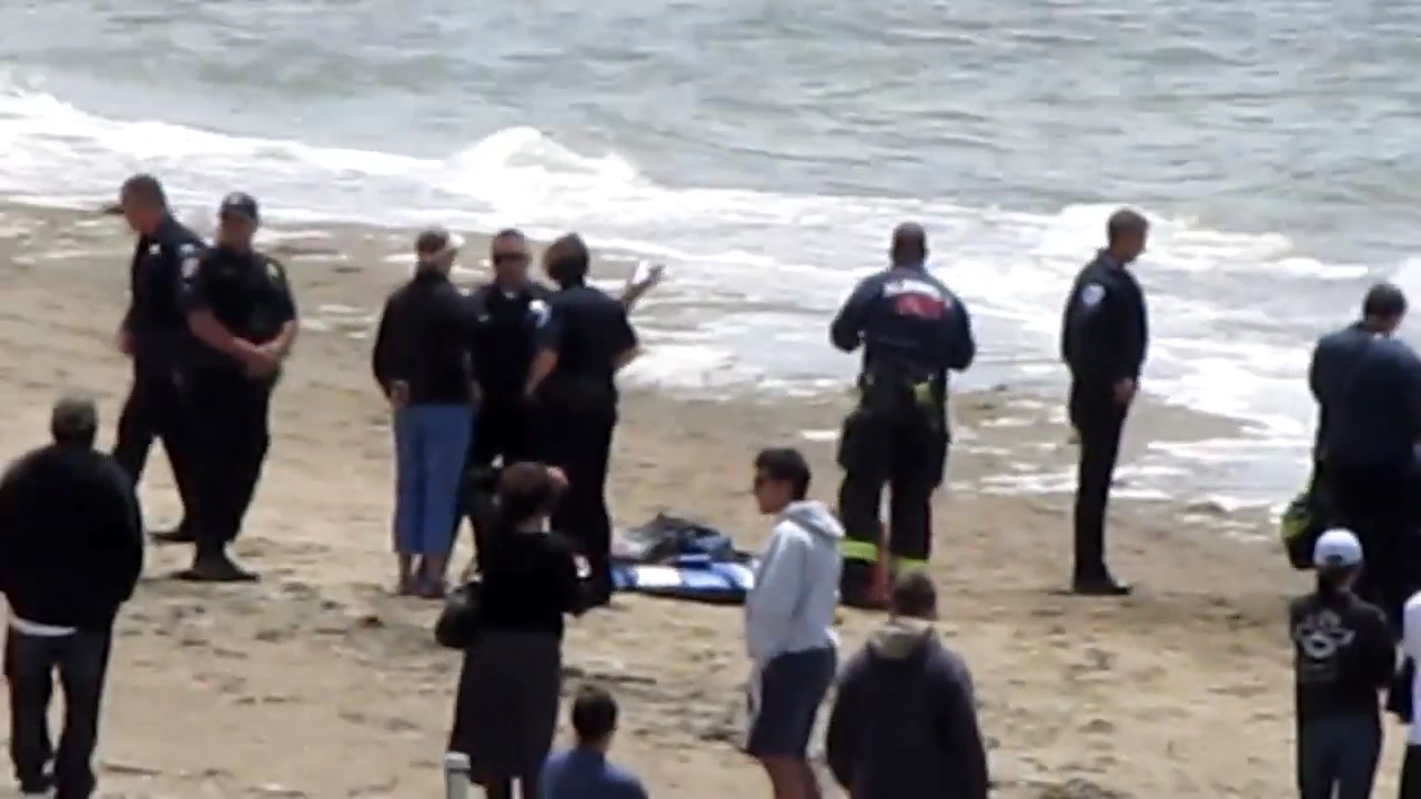 The first responders at the beach