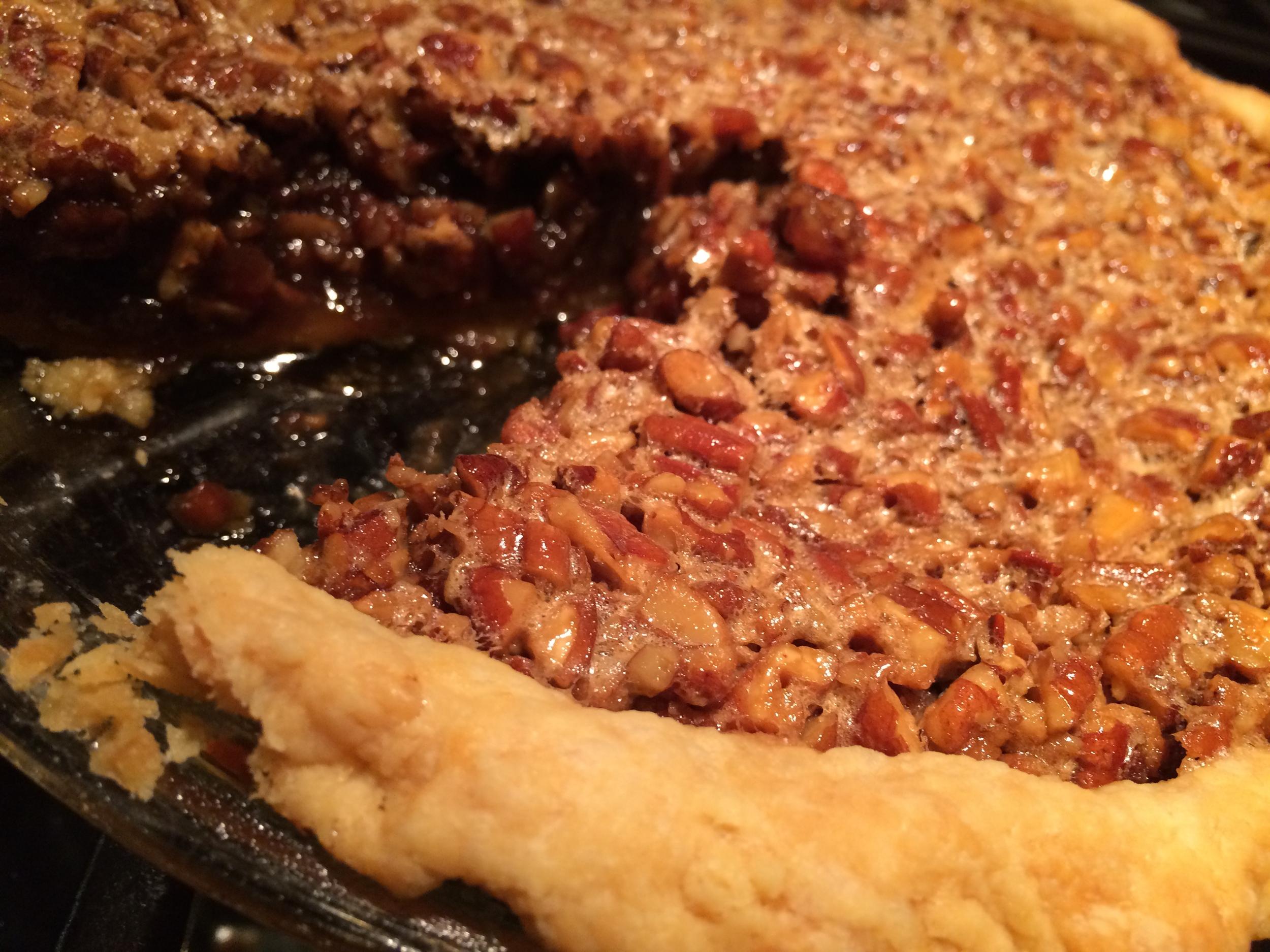 Derby Bourbon Pecan Pie