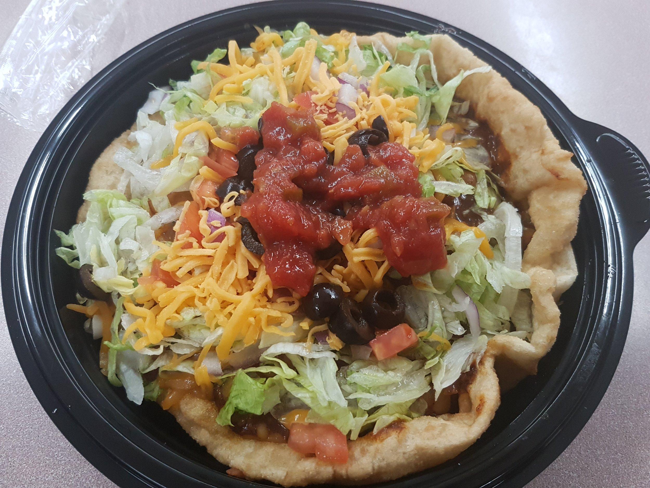 Fameux tacos Navajo