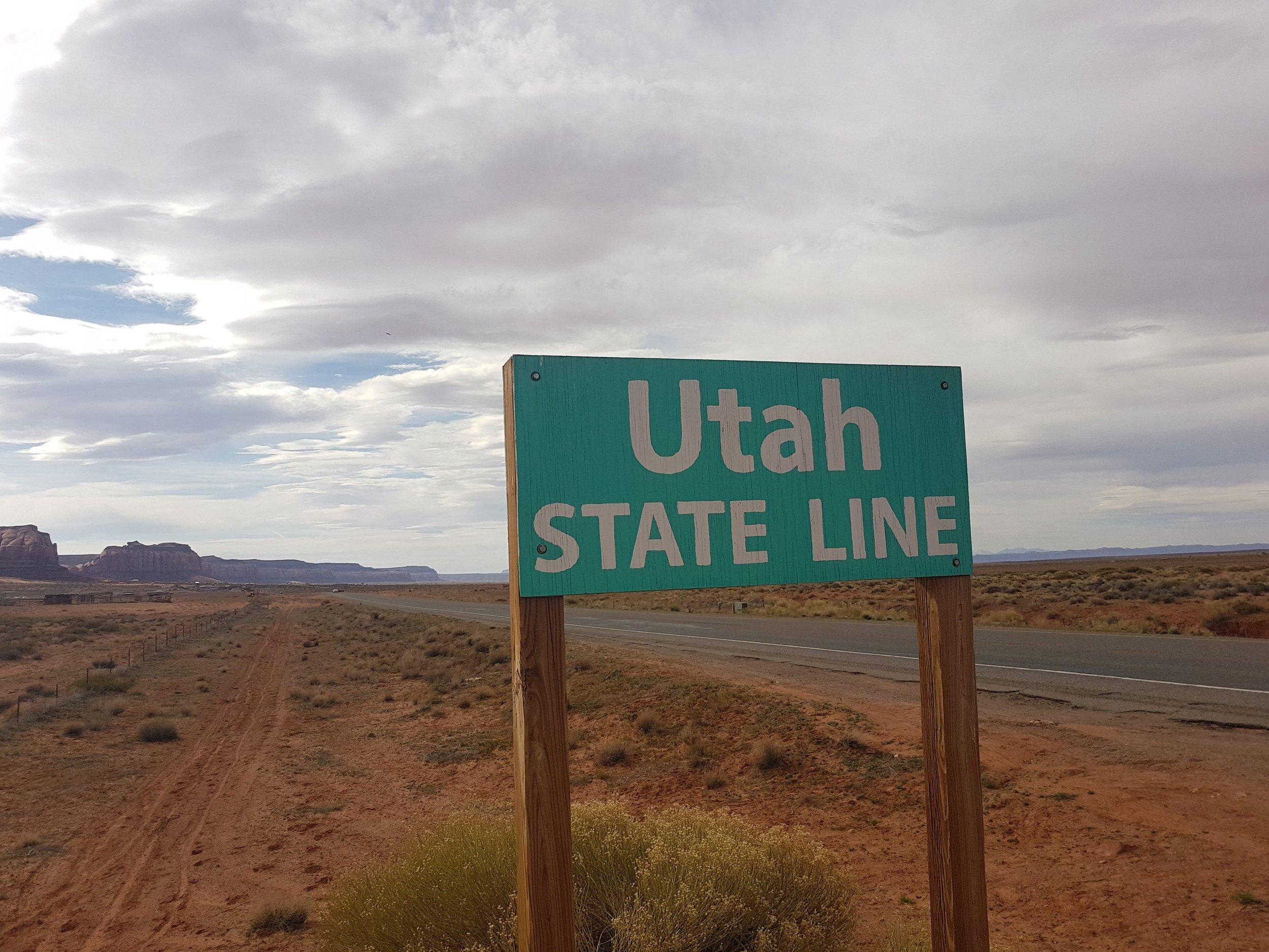 D'un côté c'est l'Utah...