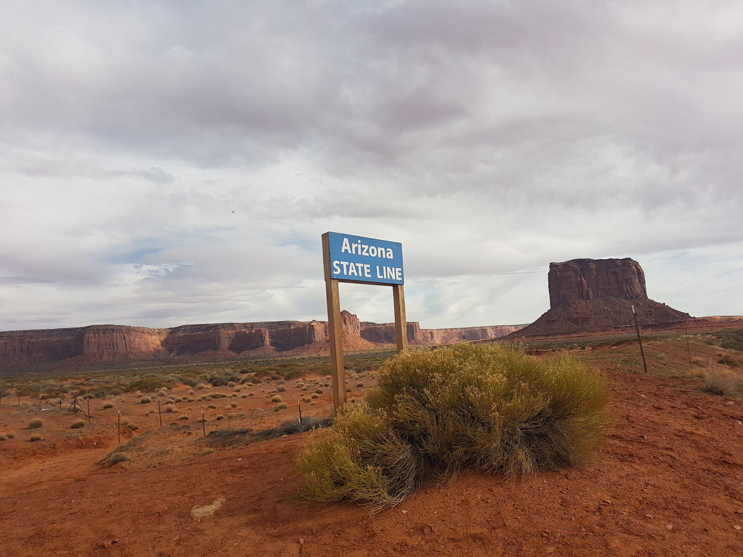 ... De l'autre l'Arizona