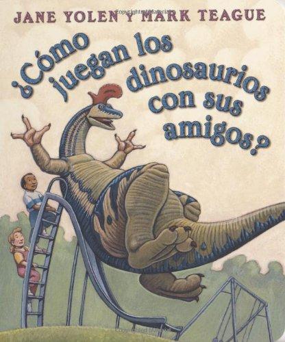 ¿Cómo juegan los dinosaurios con sus amigos?