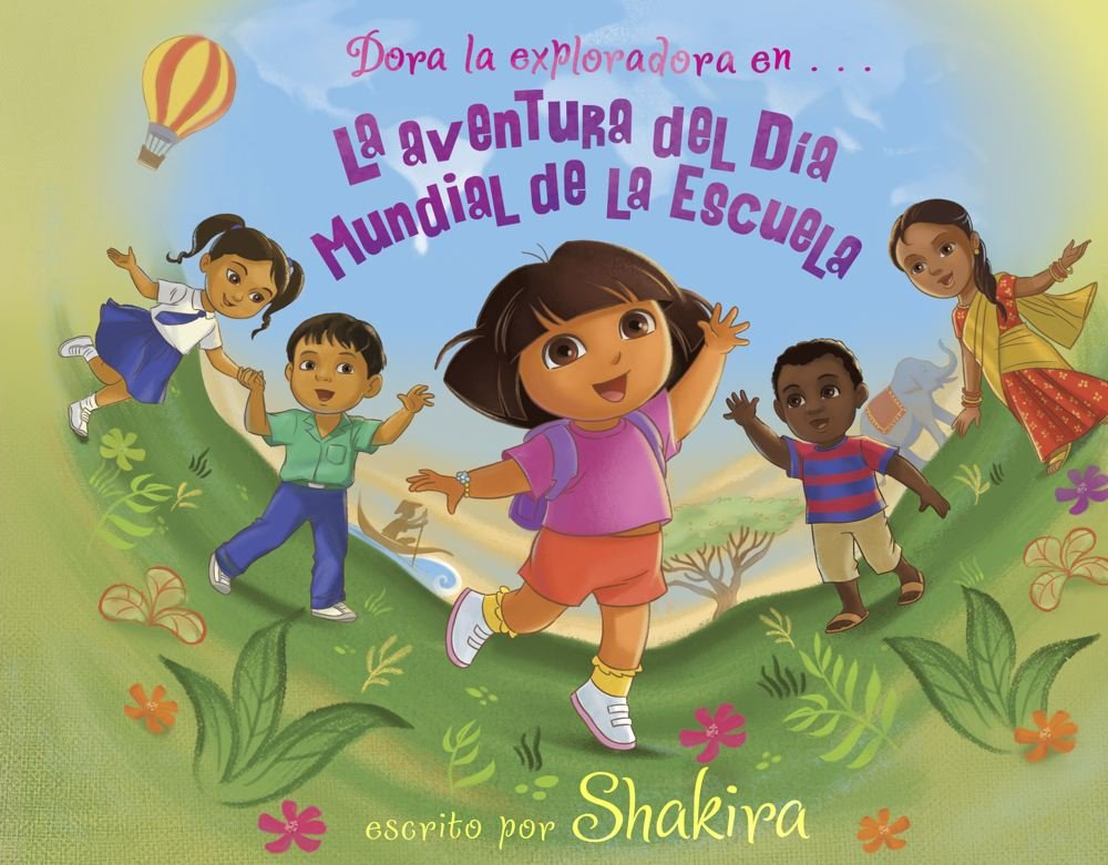 La aventura del Día Mundial de la Escuela - Shakira