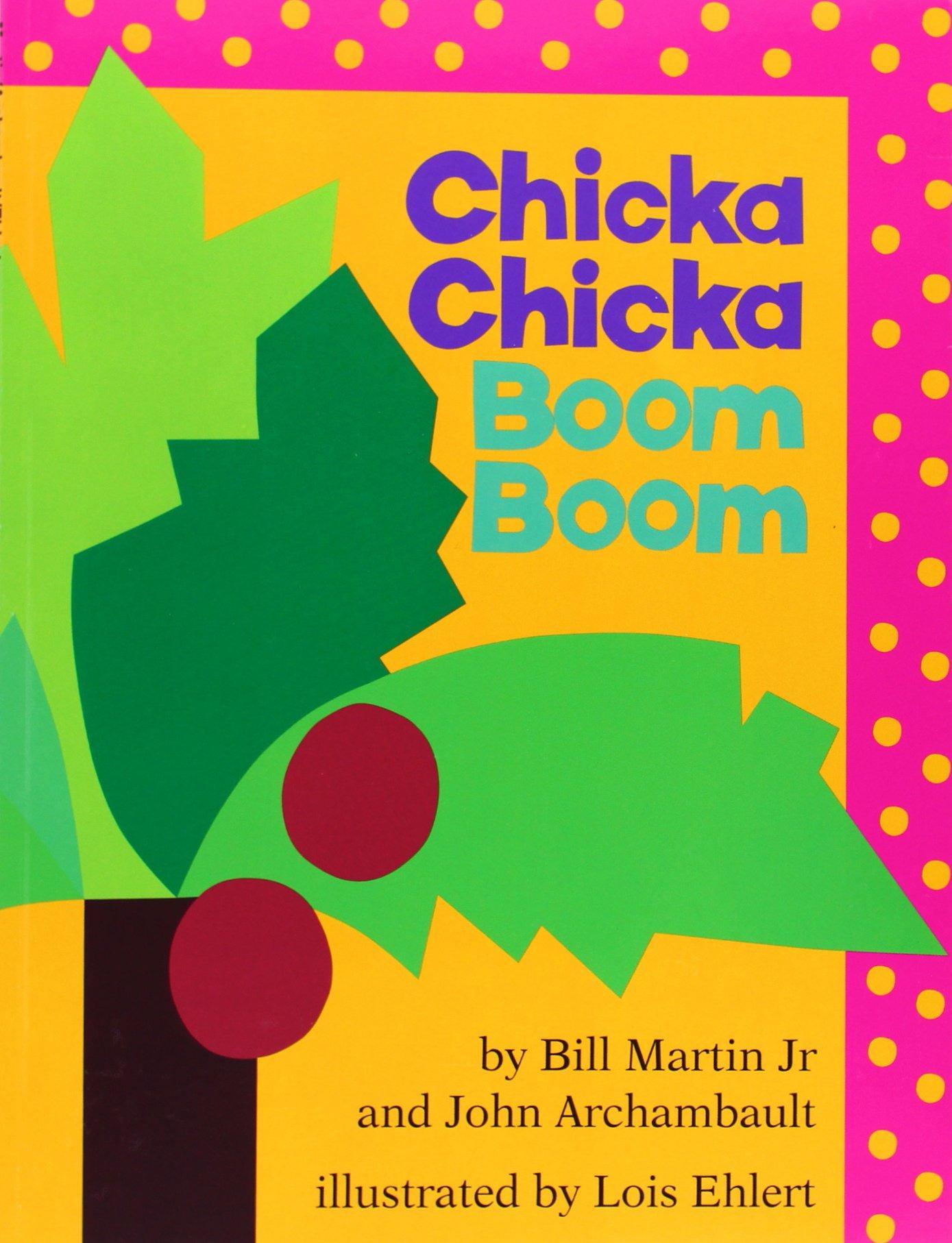 Chicka Chicka Boom Boom   Autor: Bill Martin Jr. y John Archambault  Este libro es perfecto para aprender y practicar el alfabeto. A través de rimas, las letras van subiendo a la palmera poco a poco… pero ¡son demasiadas! Y al final, todas caen otra vez.  Para todos aquellos niños que empiezan a aprender las letras, ¡Seguramente se convertirá en un favorito de tu casa!