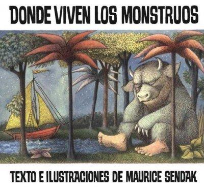 Donde viven los monstruos   Autor: Maurice Sendak  Cuando Max hace berrinches, su mamá lo manda a la cama… ¡sin cenar! Es entonces cuando, después de vestirse con su traje de lobo, da rienda suelta a su imaginación, su cuarto se convierte en una selva, y viaja hasta una isla de monstruos para tener grandes aventuras.  Donde están los Monstruos, fue escrito originalmente en 1963 y desde entonces ha sido el favorito de muchísimas generaciones. Además ha sido ganador de varios premios, entre ellos la medalla Caldecott y el Mejor Libro Ilustrado para Niños por el New York Times.