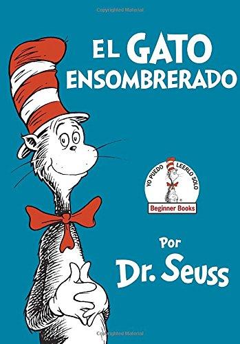 El Gato Ensombrerado   Autor: Dr. Seuss  Los libros de Dr. Seuss son de mis ¡favoritos!, sus cuentos están llenos de historias locas con moralejas y frases inolvidables. The Cat in the Hat fue publicado por primera vez en 1957 con el objetivo de que los niños tuvieran algo divertido para aprender a leer. Desde entonces ha sido el favorito de muchísimas generaciones.  La historia trata de un gato travieso, que de una forma alegre y exuberante lleva caos a una familia. Este es solo el principio de una historia llena de aventuras y diversión. Comprueba como leer de la mano de El Gato Ensombrerado puede ser ¡MUY DIVERTIDO!