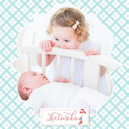 Tips y libros para que los hermanos grandes reciban al nuevo bebe