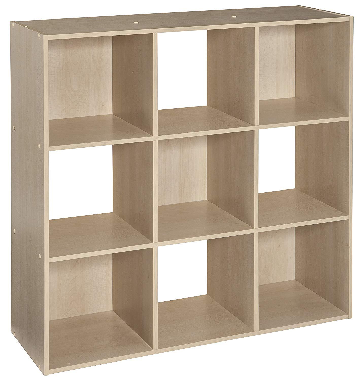 Librero 9 cubos