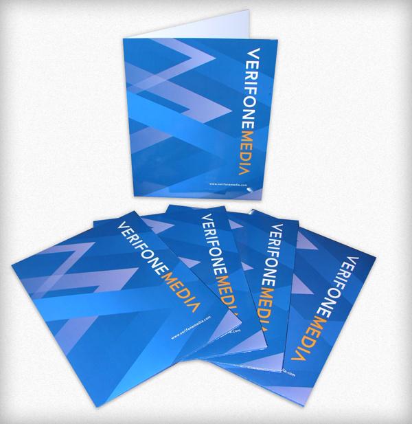 Folders incorporating new branding