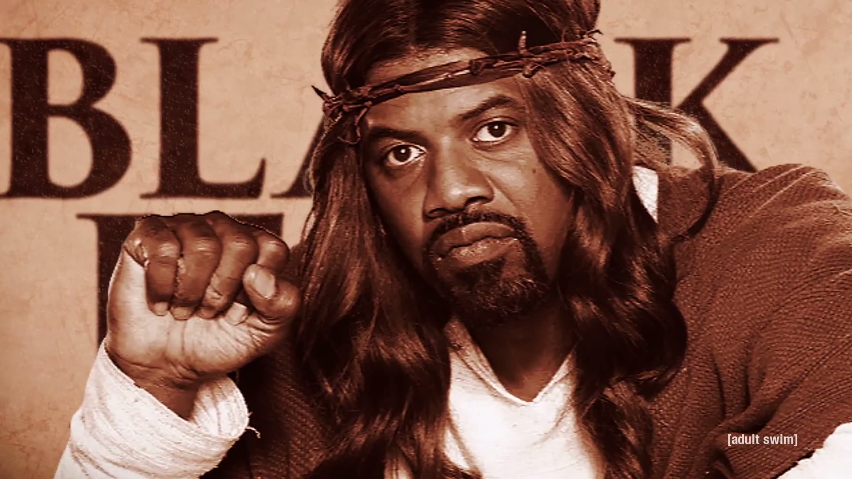 """Black Jesus"" premiered on Adult Swim August 7th, 2014 - just three days before peaceful protests and riots broke out in Ferguson, MO over the shooting of Michael Brown"